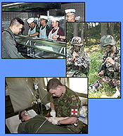 Refrigeration equipment for armed forces and services facilities.
