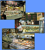 Commercial refrigeration equipment (reach-in and walk-in coolers and freezers, merchandisers, display cases) for delis and deli markets.