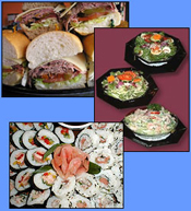Diplay Cases and Merchandisers for Sandwiches, Salads, Sushi...