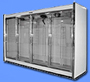Remote 30 inch Glass Door Reach-In Freezer Line-Ups